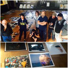 Mezinárodní porota Czech Press Photo 2015 zasedala od 9. do 11. října na Staroměstské radnici. Na snímku porota právě rozhoduje, kterému z pěti kandidátů udělí titul Fotografie roku 2015.