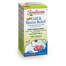 Similasan Kids Cold & Mucus Relief Cough Syrup - homeopathic medication for kiddos. It works!!