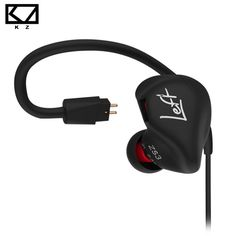 KZ ZS3 Ergonomic Detachable Cable Earphone In Ear Audio Monitors Noise Isolating HiFi Music Sports Earbuds With Microphone