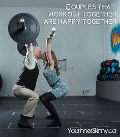 Couples That Workout Together are Happy Together via @Scott Thomson