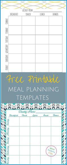 Meal Planning Grocery List - Google Drive Dinner ideas Pinterest - budget spreadsheet google drive