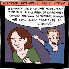 Margaret Atwood jokes. Always relevant.