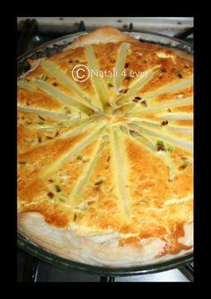 Asparagus salty cake