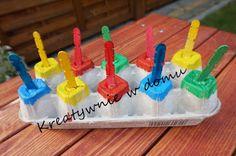 5 zabaw dla 2 latka, podczas których nauczy się rozróżniać kolory | Kreatywnie w domu