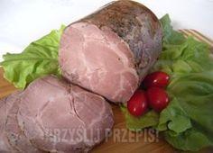 Karkówka z szynkowara Smoker Recipes, Ham Recipes, Smoked Ham Recipe, Home Made Sausage, Cold Cuts, Polish Recipes, Polish Food, Pulled Pork Recipes, Kielbasa