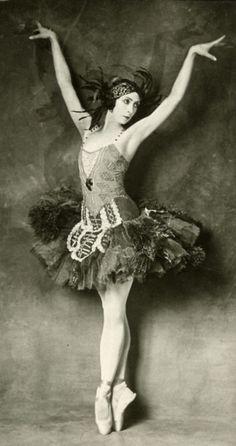 1920's ballerina. @Deidra Brocké Wallace