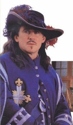 Gabriel Byrne as D& - The Man in the Iron Mask Photo . Gabriel Byrne, Movie Stars, Movie Tv, Luis Xiv, The Three Musketeers, Denim Shirt Men, Movie Costumes, Portraits, Good Movies