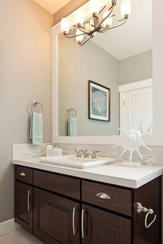 Main Floor - Guest Bathroom - Polygon Northwest Homes----I like this!!!!