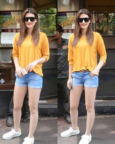 Bollywood Actress Hot Photos, Indian Bollywood Actress, Bollywood Girls, Bollywood Fashion, Indian Actresses, Celebrity Airport Style, Celebrity Casual Outfits, Indian Celebrities, Bollywood Celebrities