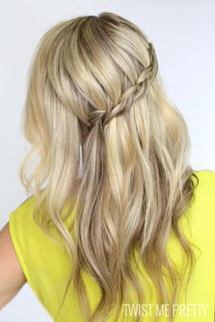 Dutch Waterfall Braid | Twist Me Pretty