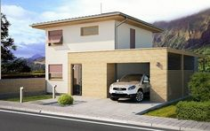 Návrh rodinného domu Kubik S od APEX ARCH s.r.o. Home Fashion, Arches, Mansions, House Styles, Home Decor, Decoration Home, Manor Houses, Room Decor, Villas