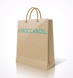 Moroccanoil Paper Shopping Bag.