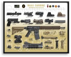 Carbine Limited Edition Prints