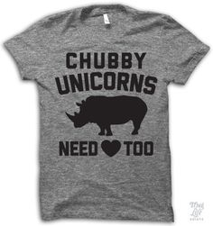 Chubby unicorns need love too!