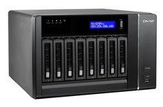 The QNAP TS-879 Pro 8-bay IP SAN (iSCSI) / NAS. http://www.transparent-uk.com/qnap-ts-879-pro.html