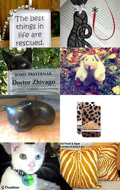 All Creatures Great and Small by lisa bodiker on Etsy #etsy #treasury #pets