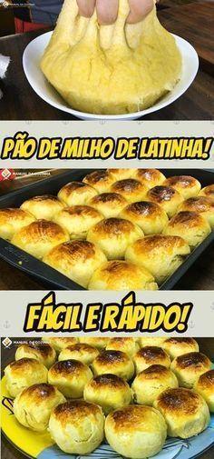 ESSA É A RECEITA DE PÃO DE MILHO DE LATINHA QUE FEZ EU DOBRAR A MINHA RENDA FAMILIAR! #pao #milho #paodemilho #manualdacozinha #alexgranig #sobremesa #doces #comida #culinaria #gastronomia #chef