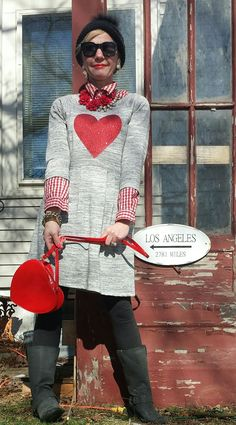This is My Life with Coffee...: Happy Saturday Sweethearts Valentine's Day outfit