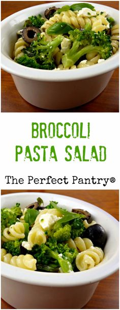 Add some olives and feta to this broccoli and pasta salad, and it ...