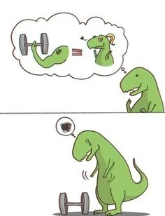 Life is tough for a T-rex