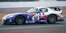 The Chrysler Viper GTS-R joined its winning team mate on the podium as the Viper Oreca Team entry finished the 1999 24 Heures du Mans third in class. Viper Gts, Dodge Viper, Gt Cars, Race Cars, Mustang Old, Pista, Mopar Or No Car, American Motors, Rally Car