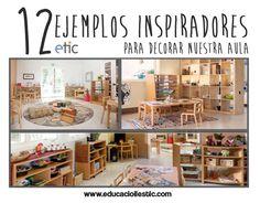 12 ejemplos inpiradores para decorar nuestra aula. Educació i les TIC