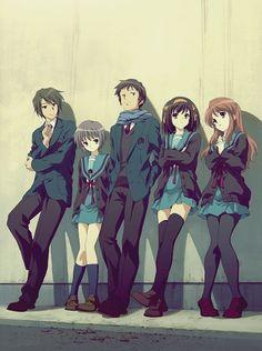 SOS Brigade | The Melancholy of Haruhi Suzumiya (Suzumiya Haruhi no Yuuutsu) (涼宮ハルヒの憂鬱)