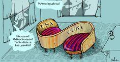 Garrincha conversaciones Cuba USA | Caricaturas - Yahoo Noticias
