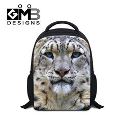 Animal Print Small Backpack for Kids