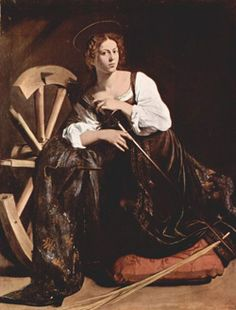 Saint Catherine of Alexandria pray for us and apologists, educators, lawyers, librarians, craftsmen who work with wheels, and maidens.  Feast day November 25.