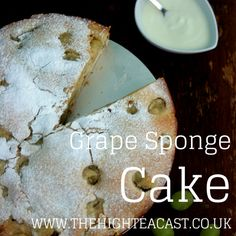 So grape cake it is then! Grape is a berry and berries make great cakes: blueberry, raspberry and cranberry - so why not try this one for size?