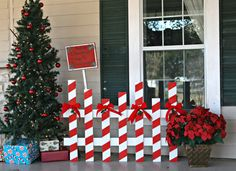 25 top outdoor christmas decorations on pinterest christmas check out these diy outdoor christmas decorations that make it cheap and easy to get your porch and yard looking festive for the holidays solutioingenieria Choice Image