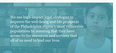 Public Interest Law Center Philadelphia mission