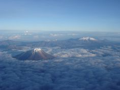 Sierra Nevada de Santa Marta, the highest coastal mountain range in the world. Here are the highest peaks, Pico Simon Bolivar and Pico Cristobal Colon.