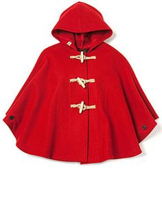 Perfect Red Riding Hood cape.
