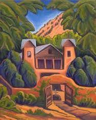 Porter, Elisabeth (Betsy) -Santuario de Chimayo : fine art prints from artists of the southwest Santa Fe Decor, Turner Painting, Santa Fe Home, Southwestern Art, Mexico Art, Gourd Art, Contemporary Paintings, Art For Sale, Online Art