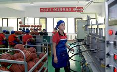 나라의 체육발전에 이바지하는 공장 - 평양체육기자재공장