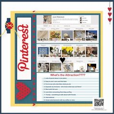Digital Scrapbook Page - My Digital Studio Want to  know why I love pinterest
