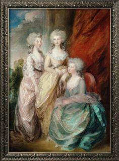 king george iii daughters | Three Daughters of King George III, Charlotte Augusta Matilda, Augusta ...
