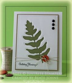 Autumn Blessings by Beate - Cards and Paper Crafts at Splitcoaststampers