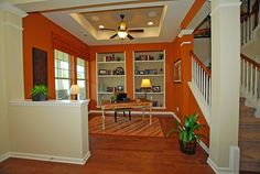 Study/Living Room with Built-Ins. @Massey Estates