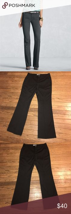 Final Markdown Cabi Bossy Trouser in Charcoal Sleek and soft Trouser pants from CABi. Perfect for work and lightweight for warm months. Looks great with heels! Size 6 and in excellent condition. Worn once for 2 hours. From a smoke free home. Price is firm on this item. CAbi Pants Trousers