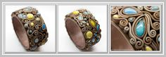 except for wire reinforcement  this bracelet is made fully of polymer clay…