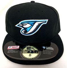 Toronto Blue Jays Size 8 On Field Hat New Era 59Fifty Fitted Baseball Cap MLB