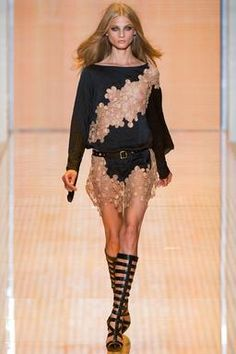 Versace Spring 2015 Ready-to-Wear Fashion Show: Runway Review - Style.com