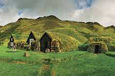 Picture of fairy-tale-likehomes in Skogar, Iceland