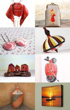 Emotions in red by Maria Grazia Pileggi on Etsy--Pinned with TreasuryPin.com