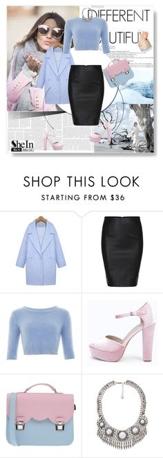 """""""Chanel Oberlin style"""" by flyawaywithmeandher ❤ liked on Polyvore featuring Boohoo, La Cartella and Violeta by Mango"""