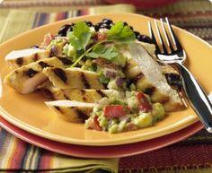 Cookingtrend.com-CHICKEN WITH AVOCADO SALSA