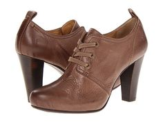 Frye Marissa Oxford Grey Soft Vintage Leather - 6pm.com
